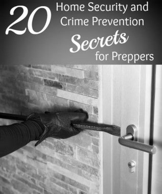 20 Home Security and Crime Prevention Secrets for Preppers