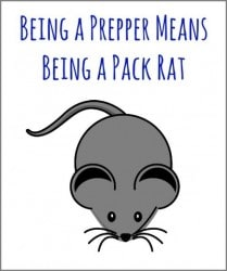 The Survival Buzz #180: Being a Prepper Means Being a Pack Rat