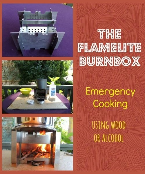 Emergency Cooking with the Flamelite BurnBox | Backdoor Survival
