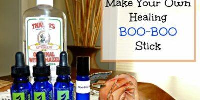 Make Your Own Healing Boo-Boo Stick
