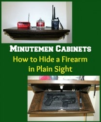 Minutemen Cabinets How to Hide a Firearm in Plain Sight | Backdoor Survival