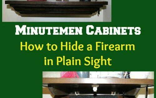 Minutemen Cabinets: How to Hide a Firearm in Plain Sight