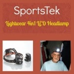 Don't Be Caught in the Dark! The SportsTek Headlamp