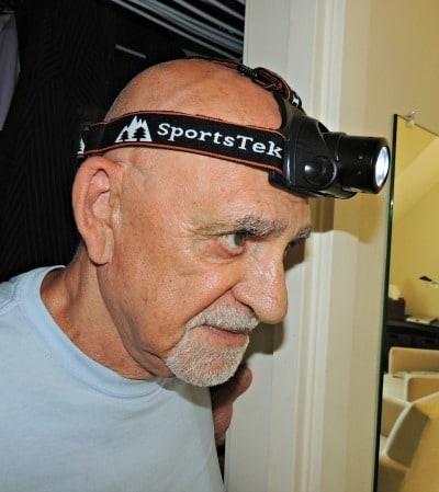 Don't Be Caught in the Dark! The SportsTek Headlamp  - Backdoor Survival
