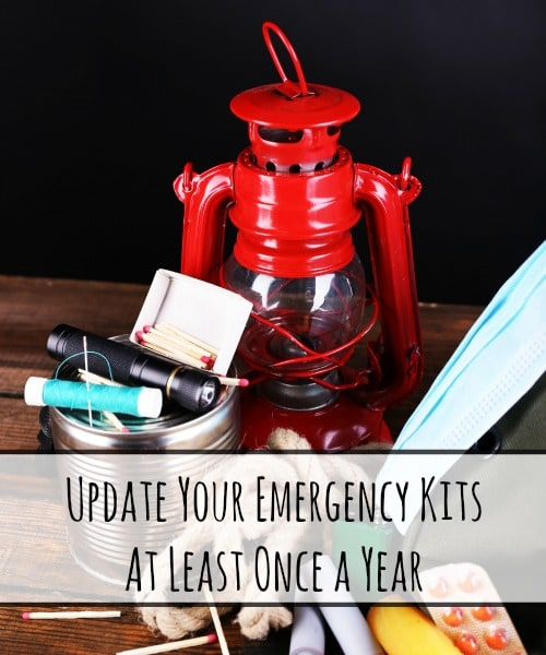 Update Your Emergency Kits at Least Once a Year | Backdoor Survival