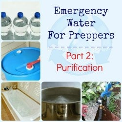 Emergency Water for Preppers Purification | Backdoor Survival