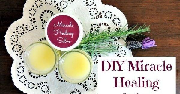 DIY Miracle Healing Salve