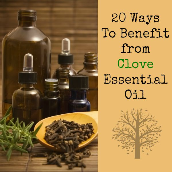 20 Ways to Benefit from Clove Essential Oil | Backdoor Survival