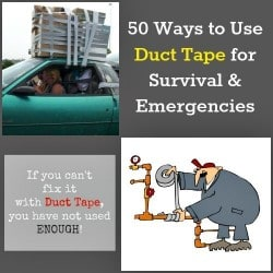50 Ways to Use Duct Tape for Survival