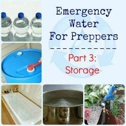 Emergency Water for Preppers Part 3 Storage | Backdoor Survival