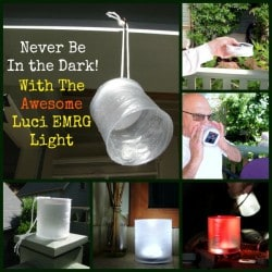 Luci Inflatable EMRG Solar Light | Backdoor Survival