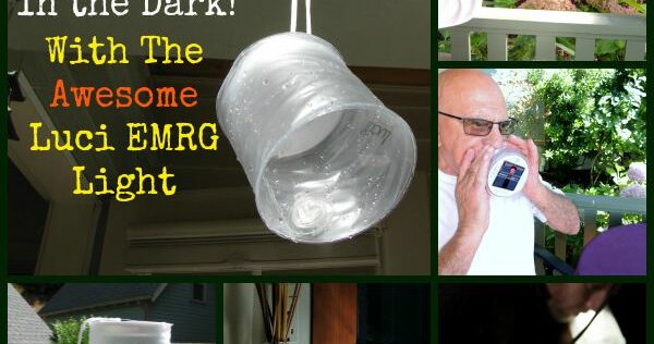 Never Be In the Dark With The Awesome Luci EMRG Light