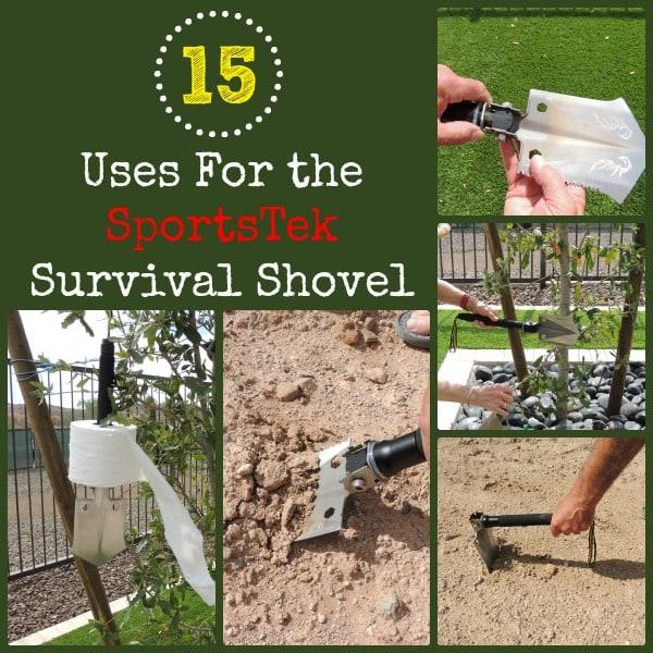 15 Uses for the SportsTek Survival Shovel | Backdoor Survival