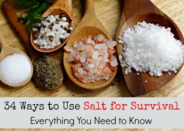 34 Ways to Use Salt for Survival | Backdoor Survival