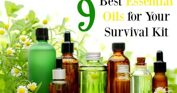 9 Best Essential Oils for Your Survival Kit