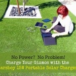 No Power? No Problem! The Marsboy Portable Solar Charger
