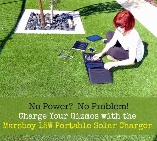 No Power? No Problem! The Marsboy Portable Solar Charger | Backdoor Survival