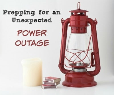 Survival Basics: Prepping for An Unexpected Power Outage