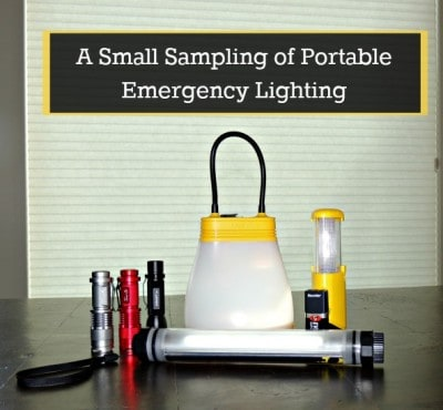Small Sampling of Portable Emergency Lighting | Backdoor Survival