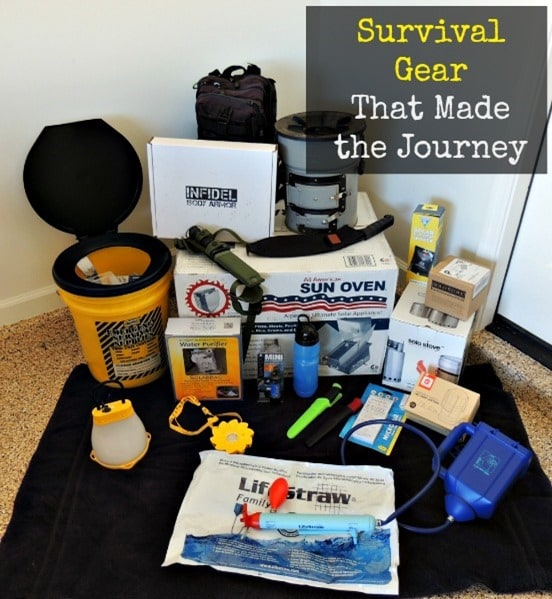 Survival Gear That Made the Journey | Backdoor Survival