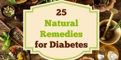 25 Natural Remedies For Diabetes