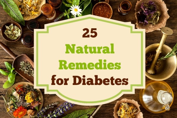 25 Natural Remedies for Diabetes | Backdoor Survival