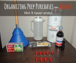 Organizing Prep Purchases Again | Backdoor Survival