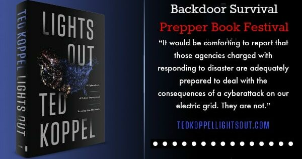 Prepper Book Festival 10: Lights Out by Ted Koppel