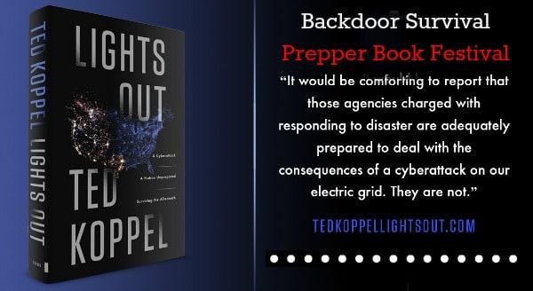 Prepper Book Festival Lights Out | Backdoor Survival