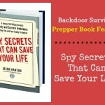 Prepper Book Festival 10: Spy Secrets That Can Save Your Life