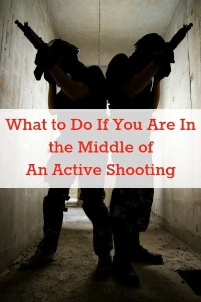 What to do if you are in the middle of an active shooting | Backdoor Survival
