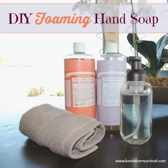 DIY Foaming Hand Soap | Backdoor Survival