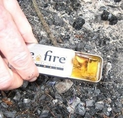 Live Fire Fire Starter | Backdoor Survival