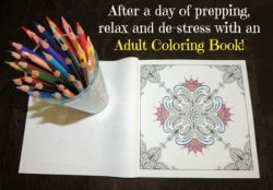 Relax and De-Stress With An Adult Coloring Book | Backdoor Survival