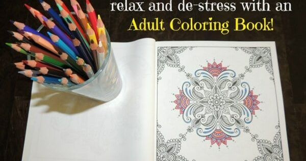 Survival Buzz #200: Relax and De-Stress With an Adult Coloring Book
