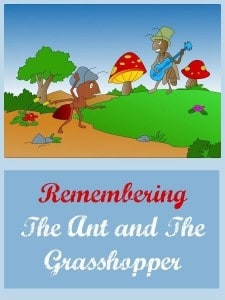 Survival Buzz: Remembering The Ant and the Grasshopper