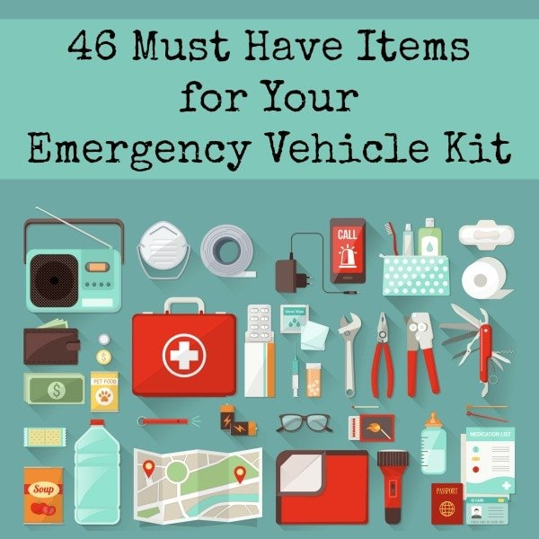 46 Must Have Items for Your Emergency Vehicle Kit  Backdoor Survival