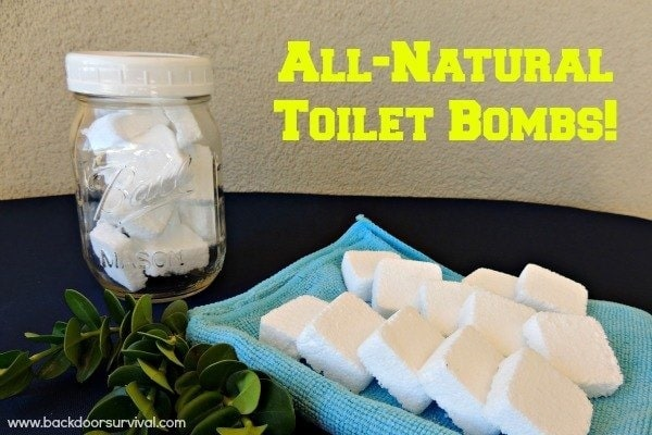 Clean Your Toilets Naturally with DIY Toilet Bombs | Backdoor Survival