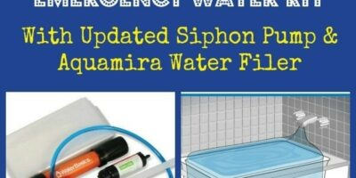 All-New AquaPod Emergency Water Kit and Filter