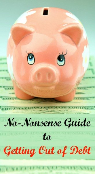 No-Nonsense Guide to Getting Out of Debt| Backdoor Survival