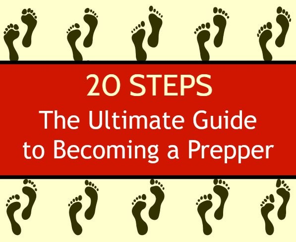 20 Steps to Becoming a Prepper | Backdoor Survival