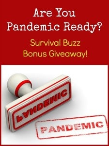 Are You Pandemic Ready Survival Buzz | Backdoor Survival