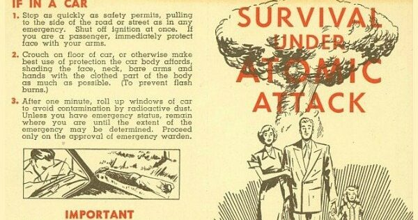 Learning From the Past: Survival Under Atomic Attack