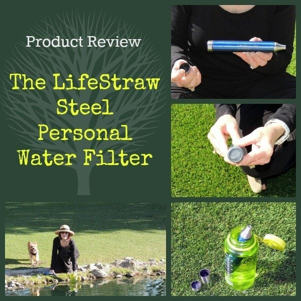 LifeStraw Steel Personal Water Filter Review | Backdoor Survival