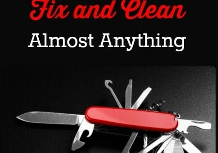 12 items You Do Not Want to Be Without – A Nifty Fix-it and Clean-it Kit