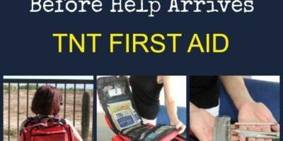 A Kit to Treat Trauma Before Help Arrives