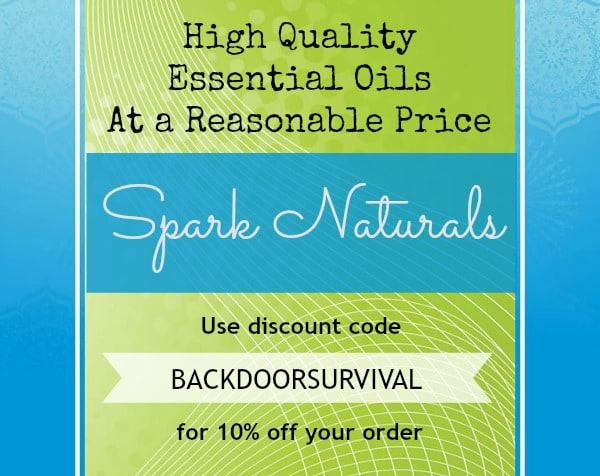 Spark Naturals Essential Oils | Backdoor Survival