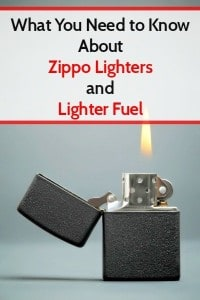 What You Need to Know About Zippos and Lighter Fuel | Backdoor Survival