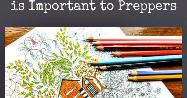 Nine Reasons Why Adult Coloring is Important to Preppers