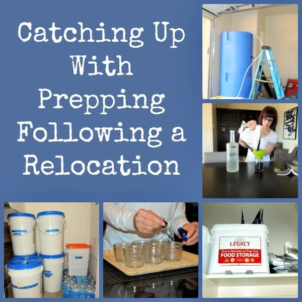 Catching Up With Prepping Following a Relocation| Backdoor Survival